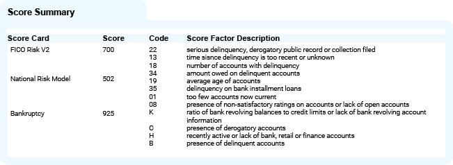 Score Summary Image